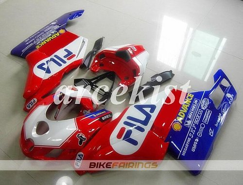New ABS Motorcycle Full Fairings kit fit for Ducati 749 999 2005 2006 05 06 749R 999R Body set Red blue