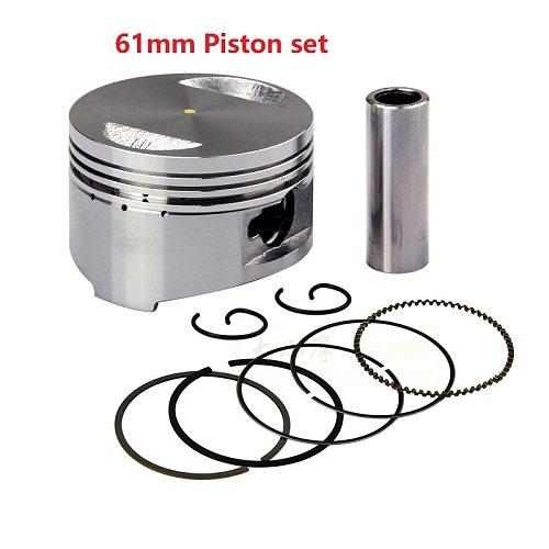 GY6 50cc 60cc 80cc 90cc 125cc 150cc 39mm 44mm 47mm 50mm 52.4mm 58.5mm 61mm Cylinder Piston Ring Gasket Kit Taotao Keeway Scooter
