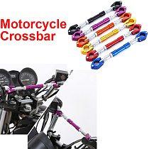 Universal 22mm Motorcycle Handlebar Motorbike Adjustable Grips Handle Bar Steering Wheel Strengthen Aluminum Alloy Cross Bar