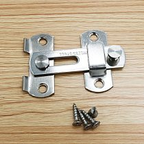 1Pc Stainless Steel Hasp Latch Lock for Sliding Door Window Cabinet Fitting For Home Security Door Hardware Accessories Cheapest