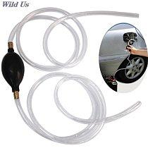 Car Fuel Gas Pump Petrol Diesel Liquid Hand Pump Primer Bulb Water Oil Transfer Pump PVC Syphon 8mm Pipe