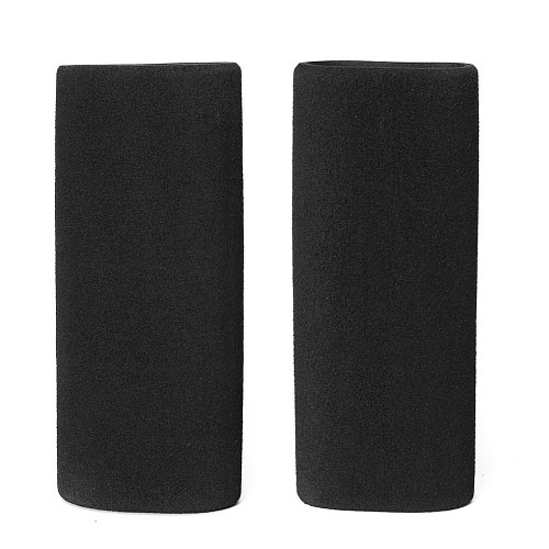 Motorcycle Foam Slip Anti Vibration Comfort Handlebar Grip Cover Accessory Set