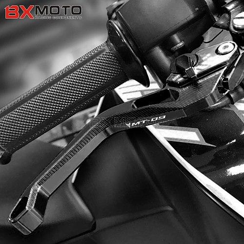 High Quality Short levers For Yamaha MT09 MT-09 FZ-09 2014 2015 2016 2017 2018 2019 2020 2021 CNC Adjustable Brake Clutch Levers