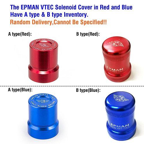 EPMAN Racing VTEC Solenoid Cover for Honda's B-series, D-series, H-series VTEC engines EP-FG002