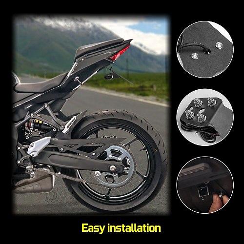ZX25R Tail Tidy Fender Eliminator LED License Plate Holder Bracket For Kawasaki Ninja ZX-25R 2020 2021 ZX 25R Accessories Motor