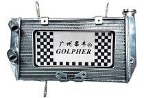 Golpher Motorcycle Aluminum Radiator For DUCATI MULTISTRADA 1200 10-14