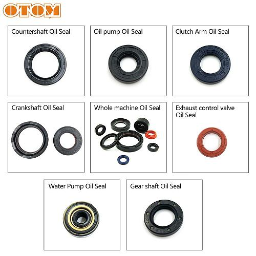 OTOM Motorcycle Engine Oil Seal For DT125 TZM150 TZR125 DT230 TSE250 Water Pump Clutch Arm Crankshaft Seal Kit Parts DT 250cc