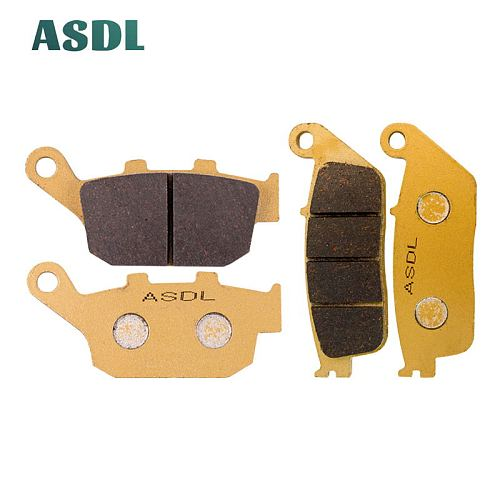 Motorcycle Front and Rear Brake Pads For BUELL Blast 2000-2007 #c