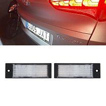2PCs Error Free LED Number License Plate Lamp Light  For Hyundai Tuscon 2015 2016 2017 2018 For IX35 2015-2018