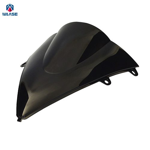 waase For Honda CBR1000RR CBR 1000 RR 2012 2013 2014 2015 2016 Motorcycle Double Bubble Windscreen Windshield Shield Screen