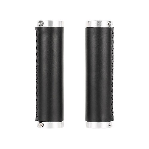 Leather Mtb Grips 1 Pairs