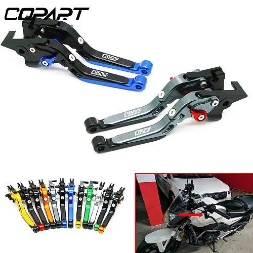 For Honda CB500F CB 500F CB500 F CBR500R/CB500F/X 2013-2018 Motorcycle Handlebar Grips Brake Clutch Levers Guard Protector