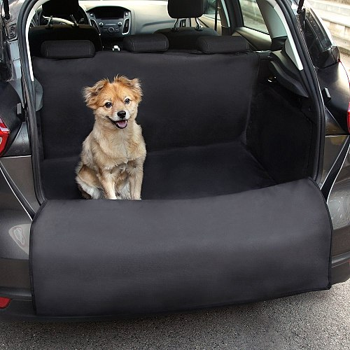 Waterproof Pet Dog Car Seat Cover Bench Seat Mat Pets Dog Travel Accessories Non Slip Hammock Blanket Outdoor Dog Mats Covers