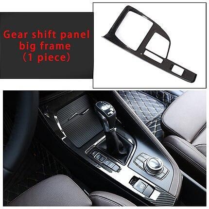 for BMW NEW X2 18-19 Car interior decorative cover carbon fiber molding trim