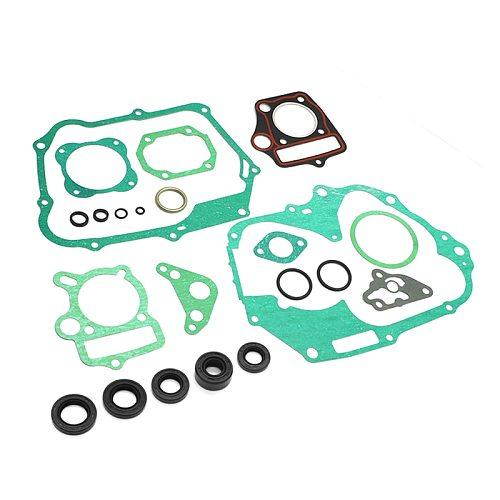 Complete Engine Gasket Rebuild Oil Seals Kit For Honda CRF70 XR70 ATC70 TRX70 CT70 SL70 XL70 C70 S65 CRF70F ATC TRX 70 SL70K