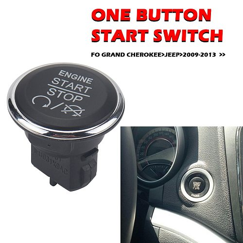 Lgnition Engine Start Stop Switch 1FU931X9AC Tools For Chrysler 300 2009-2010 Town Country 2010-2016 Auto Accessories