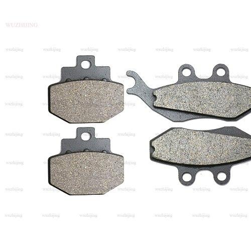 Brake Shoe Pads set fit GILERA Runner VX 125 (01-11) Runner VXR 200 (04-11) Front Rear