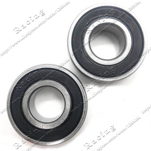 2pcs Bearing 6202 6202RS For Dirt Pit Bike Wheel Rims Pocket Bike Crank Mini ATV 47cc 49cc 44-6 Engine Parts