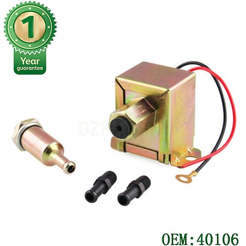 NEW high quality Diesel petrol 12V facet red top square electric fuel pump 40104 40106 40107 P502 for many car  -.