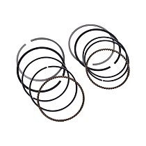 STD 64mm Motorcycle Engine Piston and Ring Kit For HONDA NT400 NT 400 Bros MKI 87-93 Shadow400 Shadow 400 02-05 Steed 400 90-93