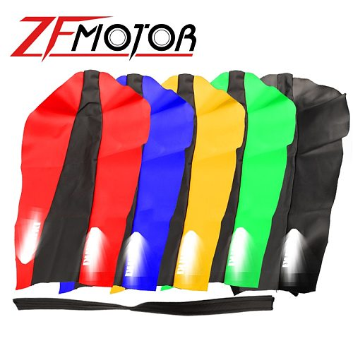 Motorcycle Accessories Dirt motorcycle PU leather new replace seat cushion water proof seat cover repair For SUZUKI DR DR200 200