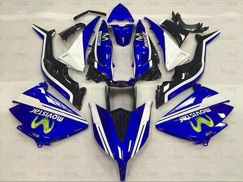 Full Body Kits for TMAX 530 16 XP 530 Motorcycle Fairing 15 T-MAX 530 Body Kits 2015 - 2016 Blue White Black
