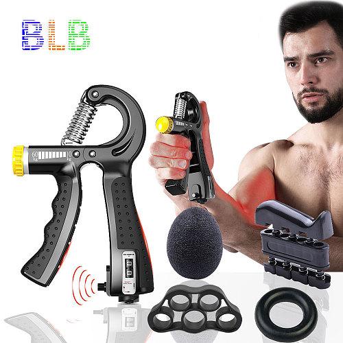 5Pcs/Set Spring Hand Grip Power Strength Expander For Hand Strengthener Finger Grip Power Grip Rehabilit Hand Trainer Expand
