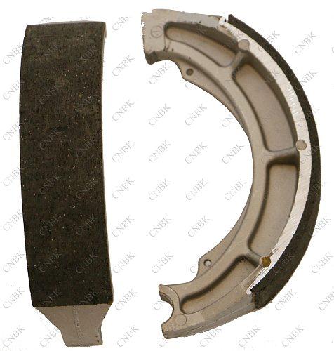 Carbon Brake Pad Set fit SUZUKI LTF LT-F 300 LTF300 King Quad Left/Rear 2002 Rear Shoe Drum 02
