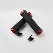 1 Pair Handlebar Grips Mountain Road Cycling Bike Bicycle MTB Handlebar Cover Grips Rubber Anti-slip Handle Grip Lock Bar End