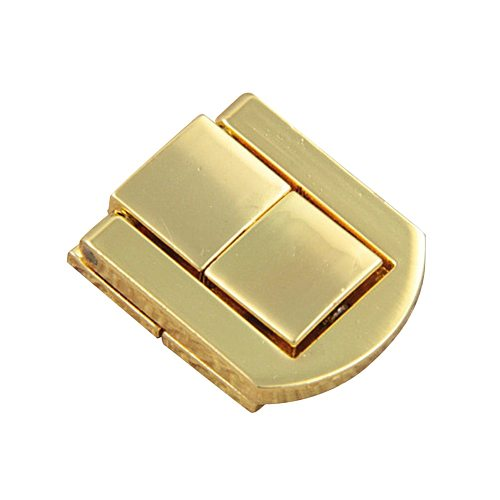 Vintage Retro Alloy Square Luggage Jewelry Gift Box Clasp Buckle Latch Hasp Lock Metal Lock Catch Latches Suitcase Buckle Clasp