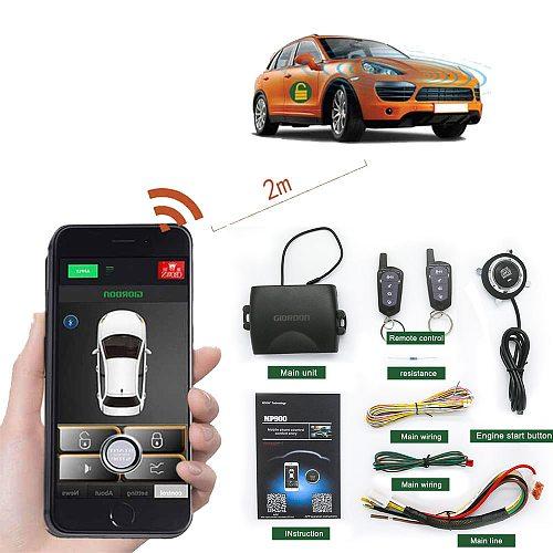 For BMW, Benz,VW, AUDI, TOYOTA, HONDA, NISSAN Remote Start Car Keyless Entry PKE Car Door Lock System Automatic Engine