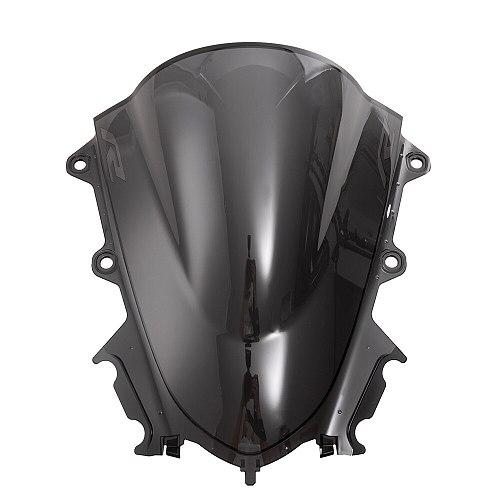 Motorcycle Sport Windshield WindScreen Deflector Visor Viser For YAMAHA YZF R15 V3.0 2017-2019 YZF-R15 V3 17'-19' Double Bubble