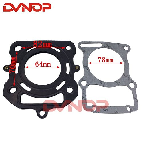 Water Cooled 200cc Cylinder Head Gaskets For Engine Lifan Zongshen CG200 200cc Pit Dirt Bike ATV Quad