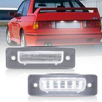 2pcs Canbus Led License Number Plate Light for BMW E30 E12 E28 E24 E23 M1 E26 Z1 Roadster Car Tail Light Accessories