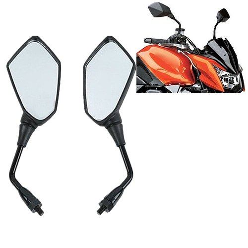 Motorcycle Mirrors For Kawasaki KLE versys 650 Z750 Z1000 ER6B ER-6N ZRX1100 1200