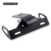 License Plate Holder LED Light For KAWASAKI Z1000 2014-2017, Z1000R 2018-2019 Motorcycle Accessories Tail Tidy Fender Eliminator
