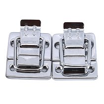 Stainless Steel Chrome Toggle Latch For Chest Box Case Suitcase Tool Clasp Cabinet Fitting Lock Belt Hasp Buckle Hardware