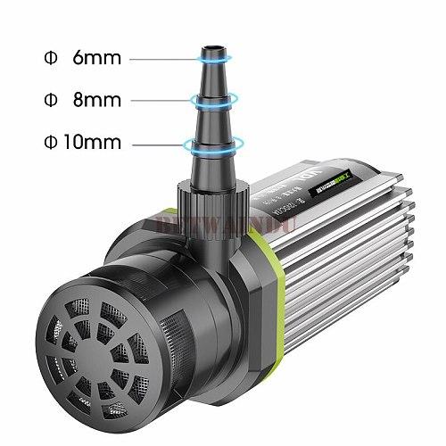 High Lift Mini Water Pump 110V-240V 15M Lift for Cutting Machine Flow Adjustable EU/US Plug