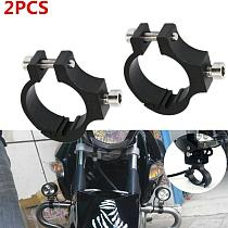 Aluminum Bicycle Light Holder Electric Motorcycle Clamp Rotary Led Extension Flashlight Clamp Bracket Headlight Clip S9C2