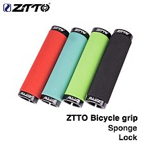 ZTTO Bicycle Parts MTB Bike Sponge Durable Shock-Proof Anti-Slip Grips Folding Bicycle Fixed Gear BMX with Bar Plug AG-36 1Pair