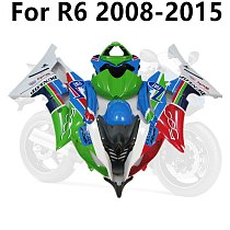 Motorcycle Track Full Fairing Kit for YAMAHA R6 2008-2015 YZF600 Cowling 08-09-10-11-12-13-14-15 ABS Color Prints