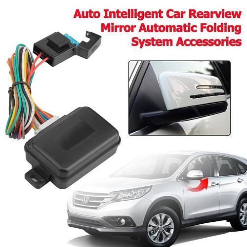 VODOOL Auto Intelligent Car Rearview Mirror Automatic Folding System Auto Car Side Mirror Folding Modules Kit Car Accessories