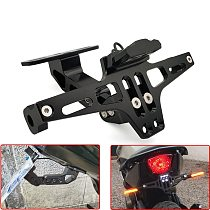 2020 Motorcycle Rear License Plate Mount Holder and Signal Lamp For YAMAHA WR450F WR250R WR250X WR450 SEROW 225 250 Accessories