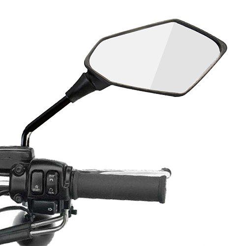 Universal Dirt Pit Bike Motocross Part ATV Off-road Motorbike Rearview Mirror Motorcycle Accessories Moto Mirrors 10mm 8mm Screw
