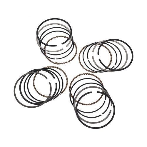 4pc 49mm STD Motorcycle Engine Parts Piston Rings Kit For Kawasaki ZR250 Ba:ius 2000 ZXR250 ZXR 250 1991-1998 Ring Set