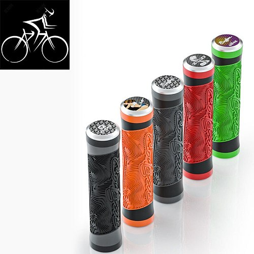 1 Pair Bicycle Grips Super Light Silicone Non-Slip Shock AbsorptionType Road Handle Bike Bicycles Parts Bmx MTB Cuffs