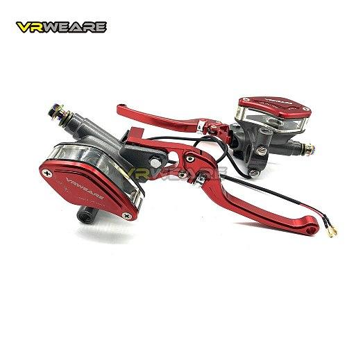 Motorcycle Brake Pump lever Adjustable Handle Hydraulic clutch Master Cylinder Racing Universal For HONDA Yamaha Kawasaki Brake