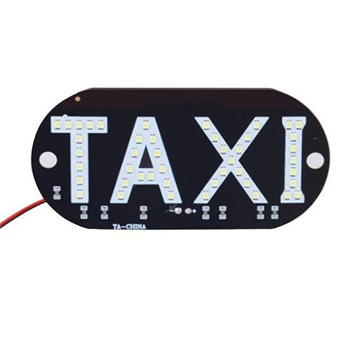 1Pc 12V LED Car Taxi Cab indicator Brand New High Quality Energy Saving Long Life Lamp Windscreen Sign Windshield Light Lamp