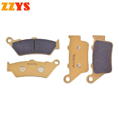 Motorcycle Front and Rear Brake Pads For BMW F650GS F650 GS F 650 GS 2009-2012 G650GS F650CS F650ST F650 CS Dakar C1 125 200