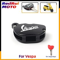 Universal Motorcycle CNC Key Cover Case Shell Keys protection For Vespa GTS300 200 946 LX150 Enrico Piaggio 125 150 fly RA1 3vte